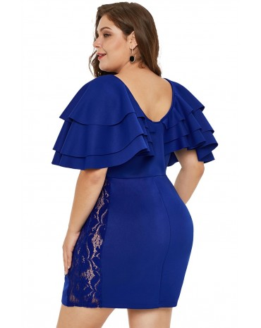 Plus size haljina
