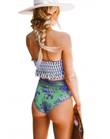 Visokog struka kupaći kostim
