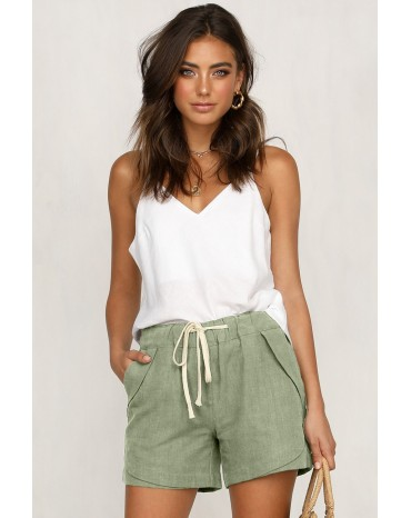 Green Faylin Shorts