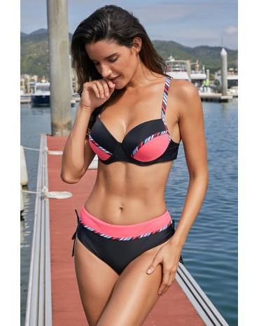 512e3c25a81d Black Pink Color Block...