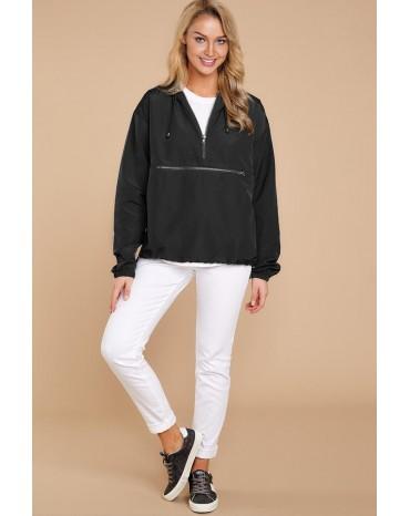 Black Windbreak Jacket